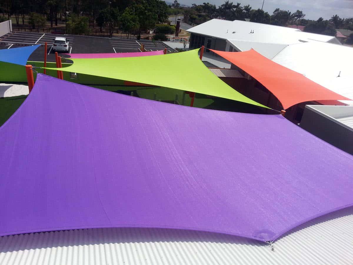 Child Care Centre - coloured shades