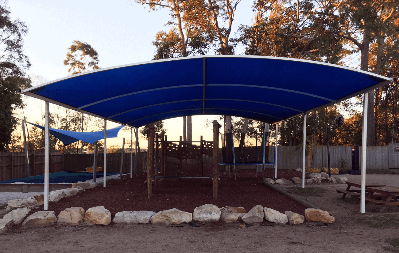 Shade Sails Repaired After Hailstorm