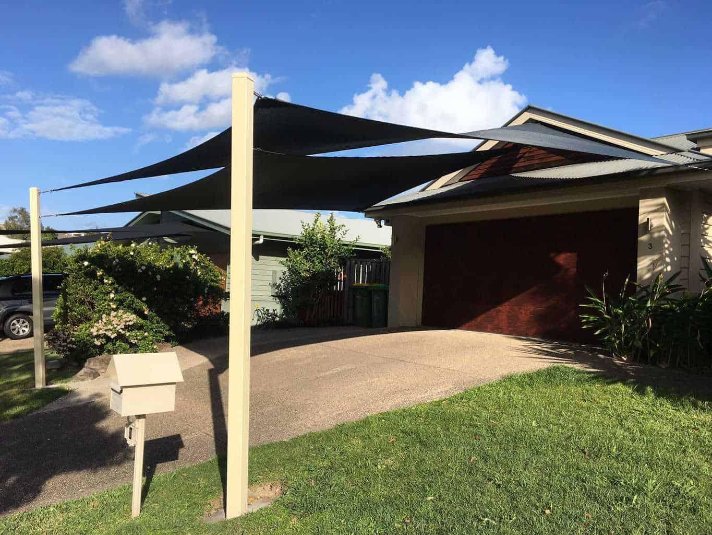 Shade Sails Brisbane Ipswich Gold Coast Installation