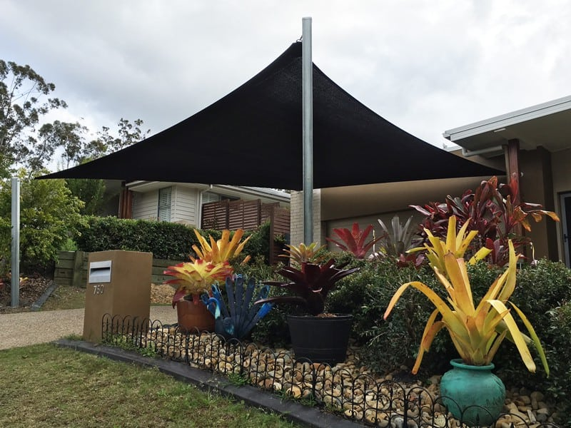 carport driveway shade sails brisbane shade structures. Black Bedroom Furniture Sets. Home Design Ideas