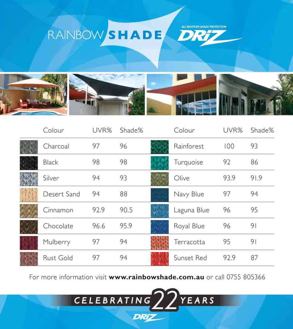 DRiZ Colour Range