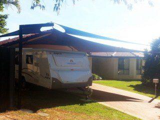 Driveway Shade Sails for Caravan Brisbane