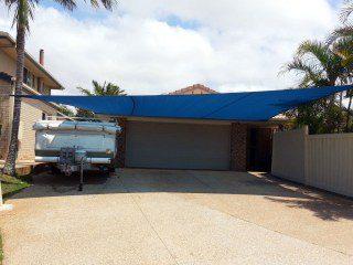 Driveway Shade Sails for caravan and car - Brisbane - Superior Shade Sails
