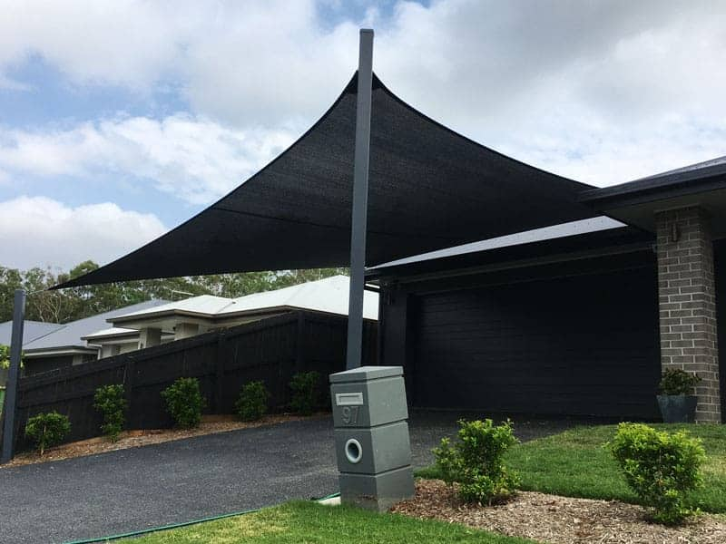 Springfield-Lakes-Brisbane-Carport-Shade-Sail-into-colour-bond-roof