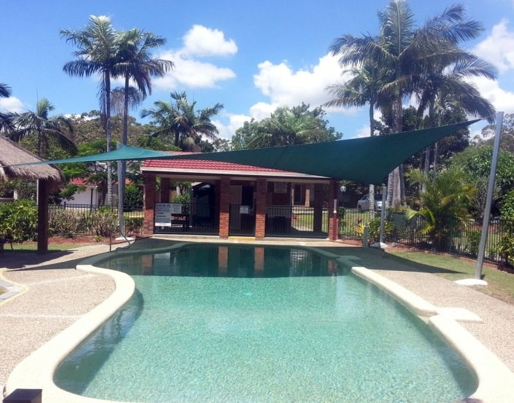 Swimming Pool Shade Sail - Brisbane