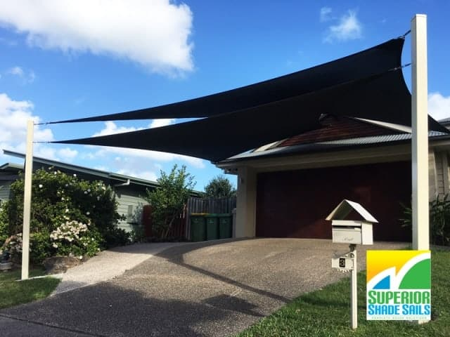 Ormeau Driveway - Twin Overlapping Sails