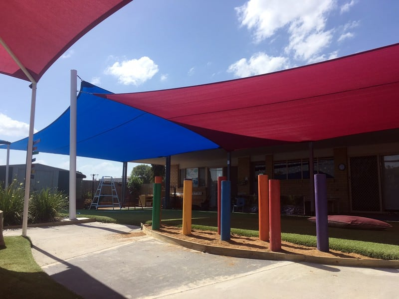 ipswich-silkstone-childcare-shade sails-shade sails by Superior Shade Sails
