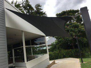 Ipswich- 4 point carport shade sails
