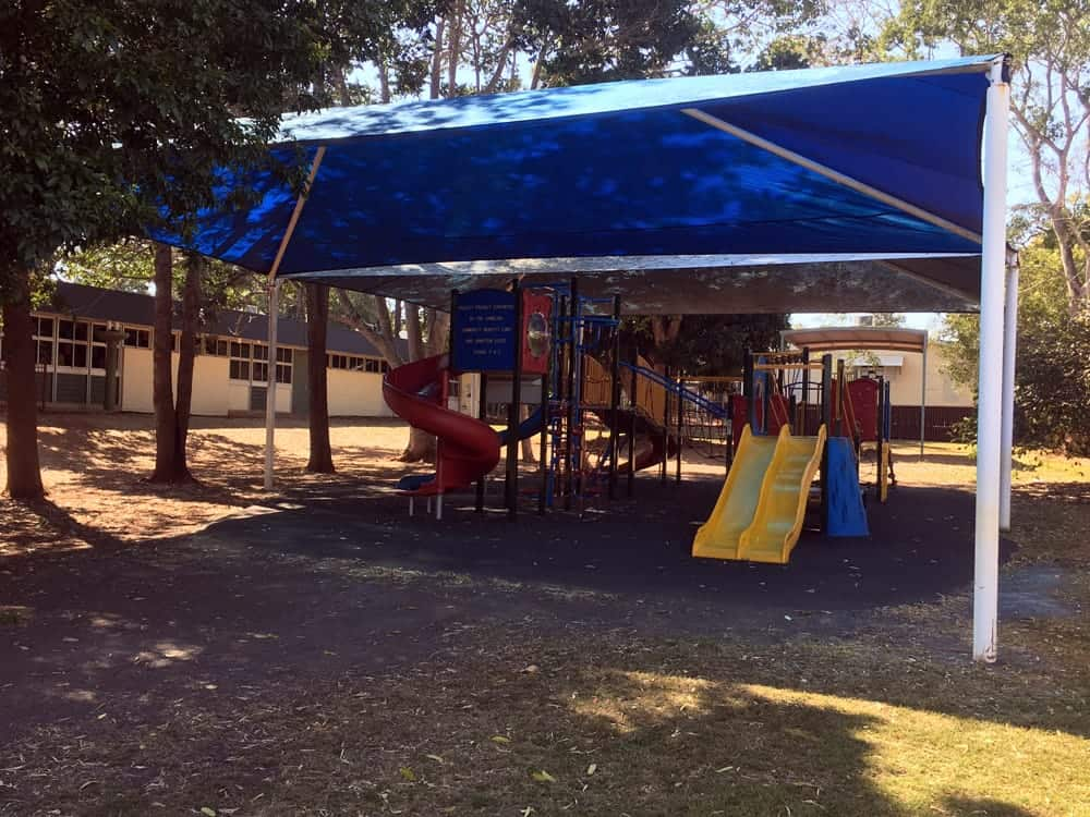 Queensland Government - State School - Replacement of storm damaged Shade Sail in Redland Bay.