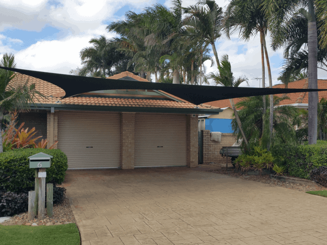 Shade Sail Installation - Home - Residential