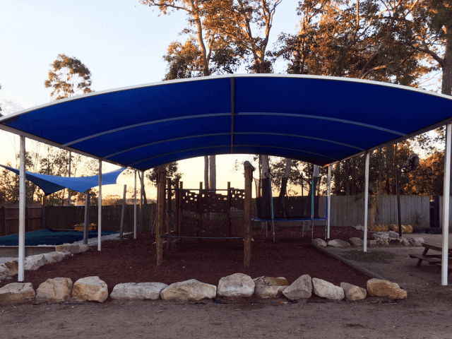 Shade Sails Repaired After Hailstorm-Superior Shade Sails
