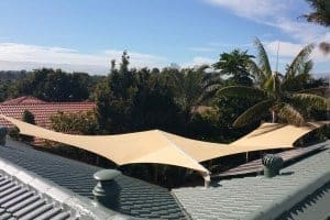 Carport-Shade-Sail-Oxenford-dual-overlapping-sails