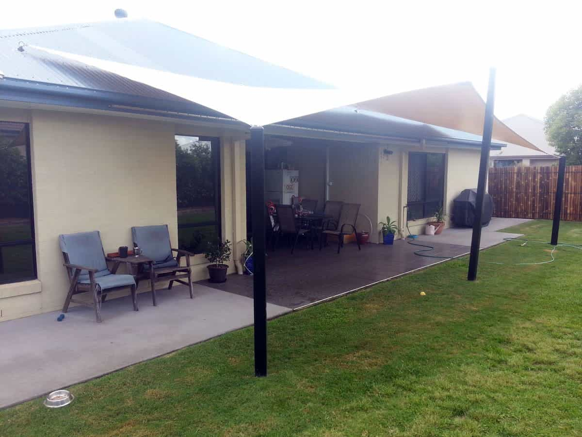 Deck and Patio Shade Sails - Brisbane