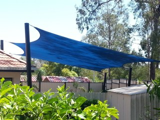 Swimming Pool Shade Sail - Brisbane - Superior Shade Sails