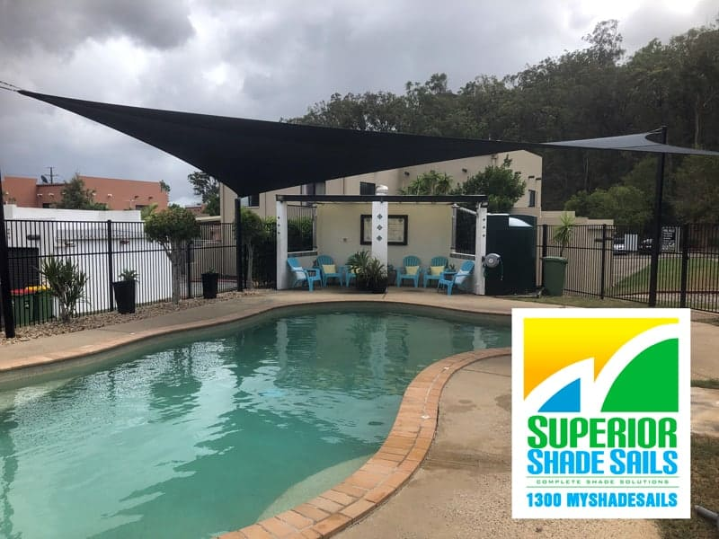 Pool Shade Sail Brisbane - Swimming Pool Shade - Superior Shade Sails