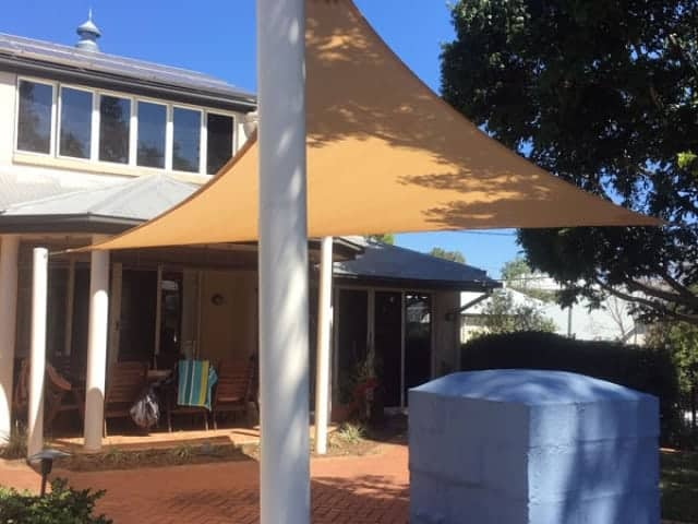 Brisbane Shade Sail Replacement - in Woollongabba.