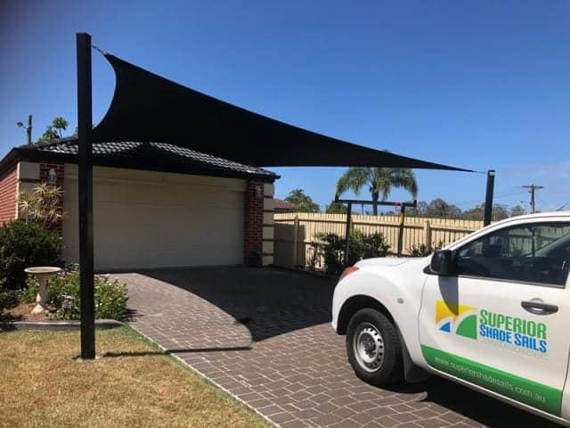 Carport Shade Sail - Albany Creek by Superior Shade Sails