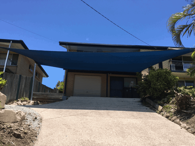Carport-Driveway Shade Sail Brisbane Stafford Heights