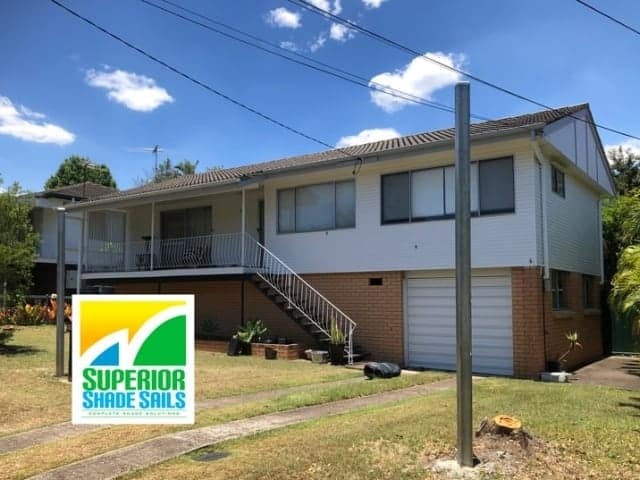 Carport Shade Sail Installation - Brisbane | Superior Shade Sails