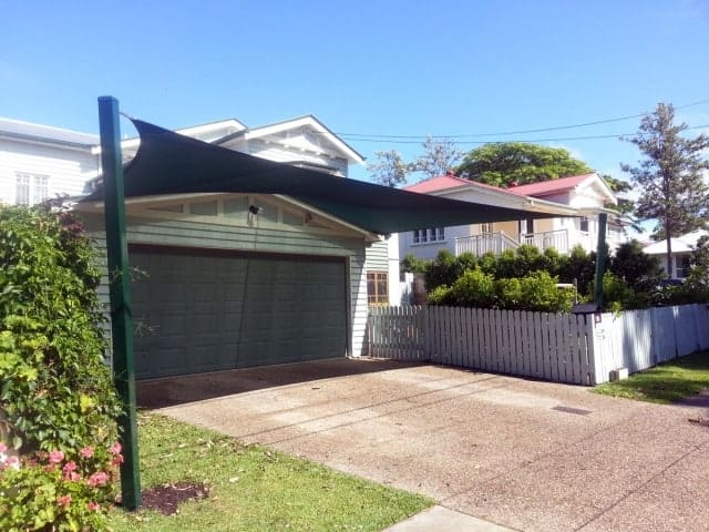 Driveway Shade Sails - Brisbane - Superior Shade Sails