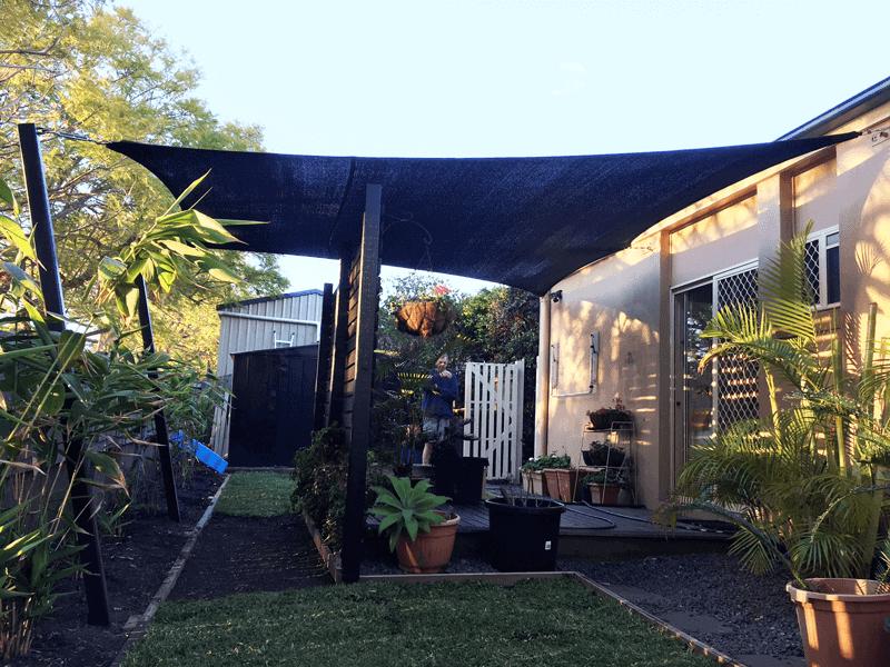 Forest Lake Patio and Garden Shade Sail - Superior Shade Sails Brisbane