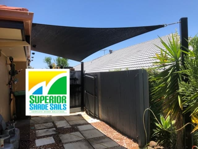 Parkinson 4 point hyper sail | Superior Shade Sails