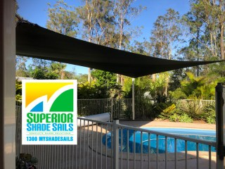 Pool Shade Sail - Flagstone | Superior Shade Sails
