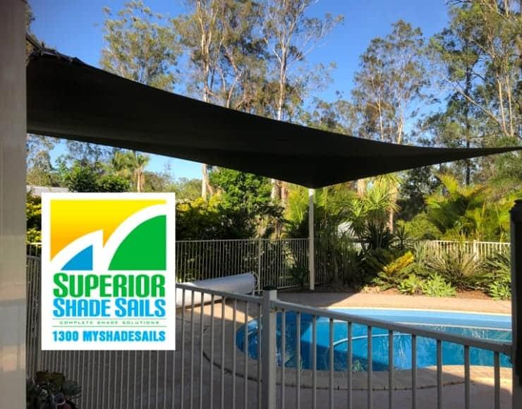 Pool Shade Sail - Flagstone | Superior Shade Sails