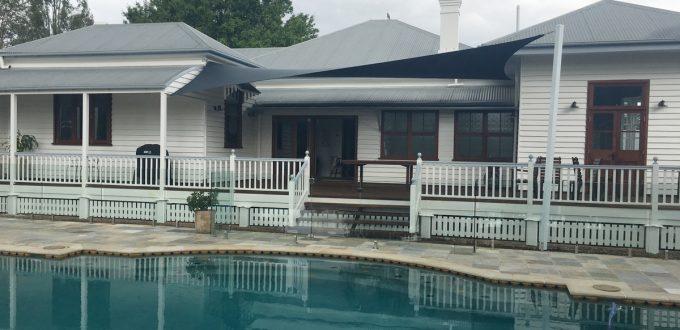 Shade Sail Brisbane - Pool Side