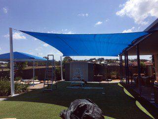 ipswich-silkstone-childcare-shade sails installed by Superior Shade Sails