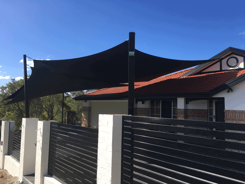 Shade sails brisbane ipswich gold coast installation for Shade sail cost