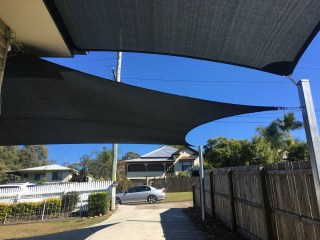 Carport shade sail Ipswich Tivoli - Superior Shade Sails
