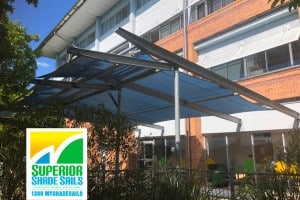 Replacement Shade Sails for Griffith University-Brisbane south-side
