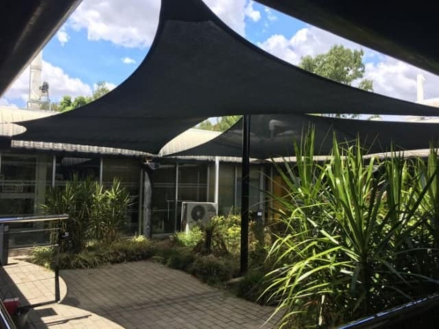 Shade Sails - Queensland Government project - Ipswich