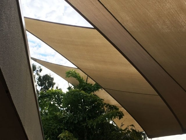 Church shade sails - Mount Warren Park