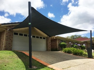 5 Point Shade Sail in Mackenzie, Brisbane installed by Super5 Point Shade Sail in Mackenzie, Brisbane installed by Superior Shade Sails, Brisbaneior Shade Sails, Brisbane