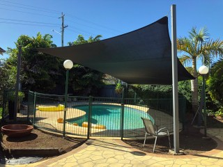 5 Point Pool Sail in Wooloowin - Superior Shade Sails
