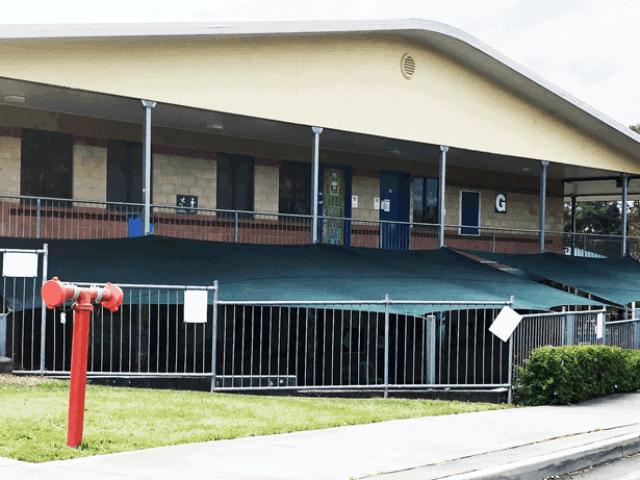 Replacement shade sail-Brisbane Islamic-College- Superior Shade Sails