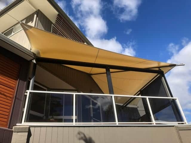 Replacement Shade Sail for Patio-Deck, Cornubia, Brisbane installed by Superior Shade Sails