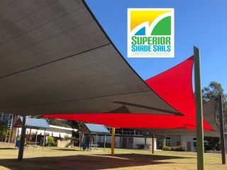 Shade Sail Replacements Brisbane for Flagstone State School in the bus waiting area.