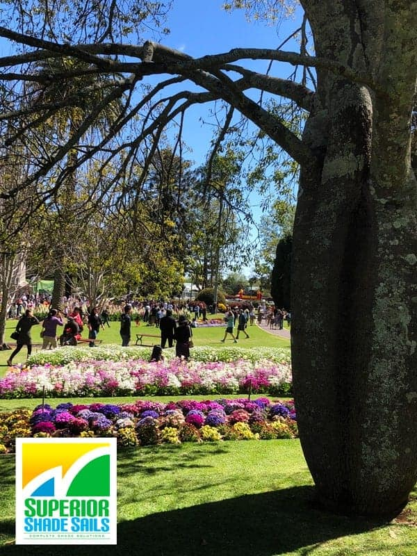 Carnival of Flowers, Toowoomba - Image: Superior Shade Sails