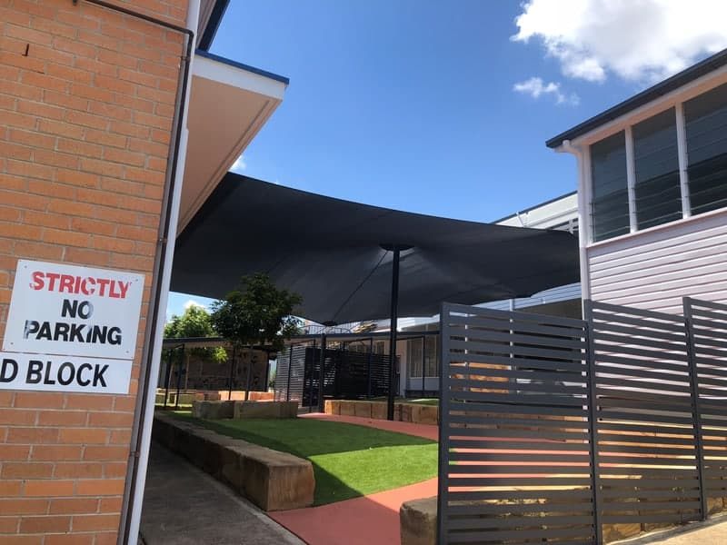Shade Sail - Ispwich Qld Government School | Superior Sails