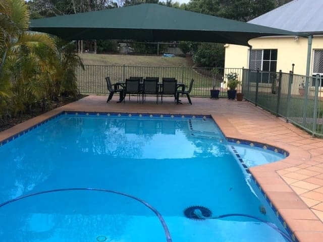 Restitch, repair and re-install Shade Sail in Chuwar by Superior Shade Sails