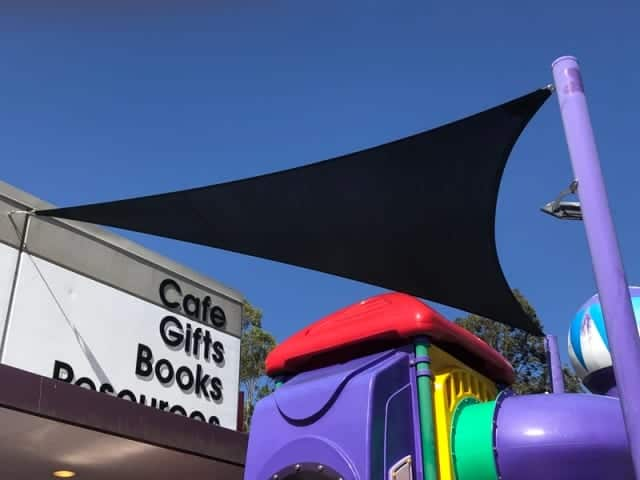 Replacement 3 Point Shade Sail- Koorong Christian Bookshop, Springwood