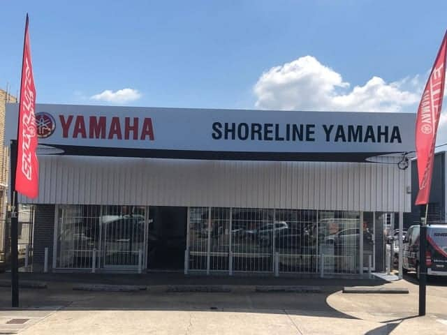 Repair & Replacement of Shade Sail - Shoreline Yamaha, Slacks Creek.