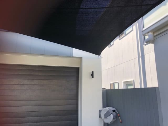 4 Point Shade Sail, Westlake | Superior Shade Sails, Brisbane