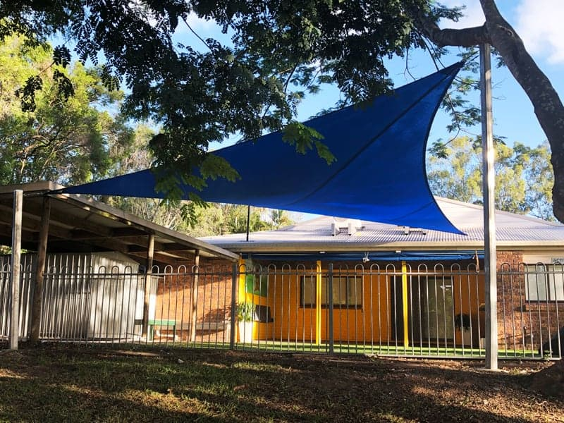 Shade sail for the Sunnybank Church by Superior Shade Sails, Brisbane