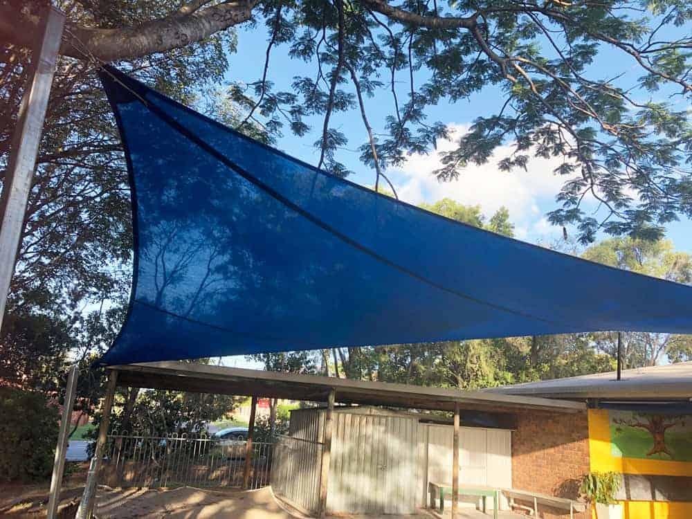 Shade sail for the Sunnybank Church by Superior Shade Sails, Brisbane