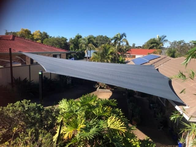 6 Point Driveway Shade Sail - Collingwood Park by Superior Shade Sails, Brisbane