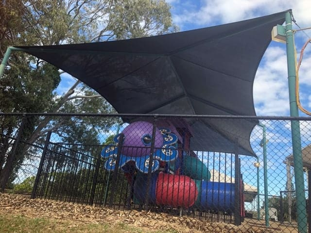 Replacement Shade Sail for Playground at Redland Bay Hotel